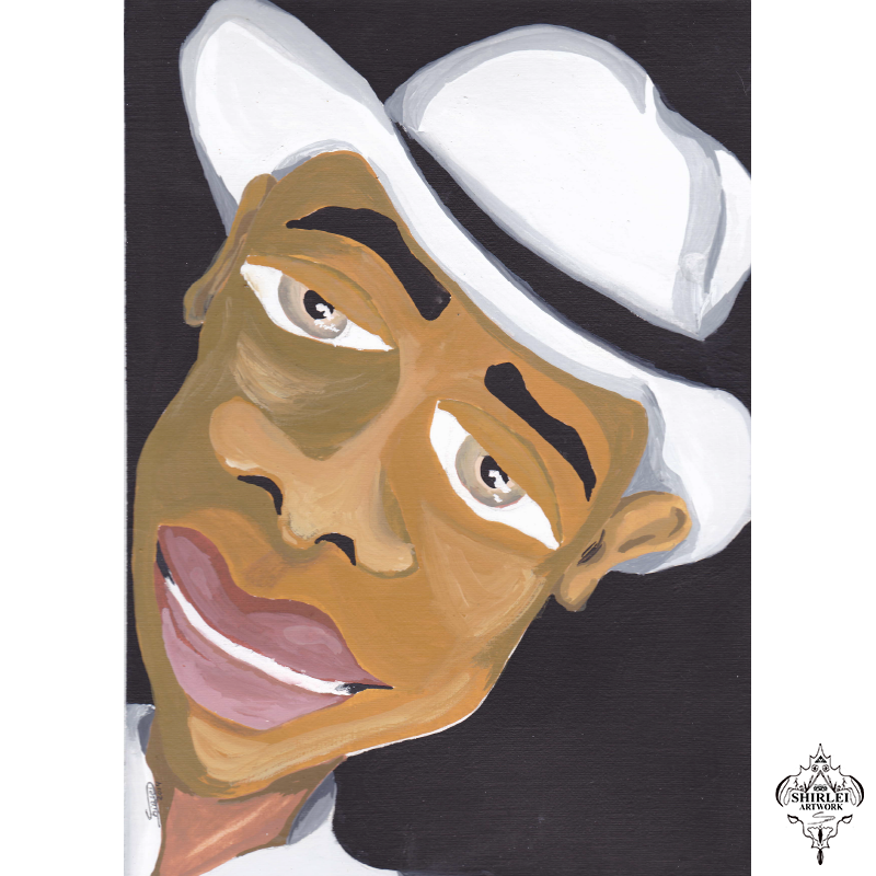 Samba Man – Character Illustration