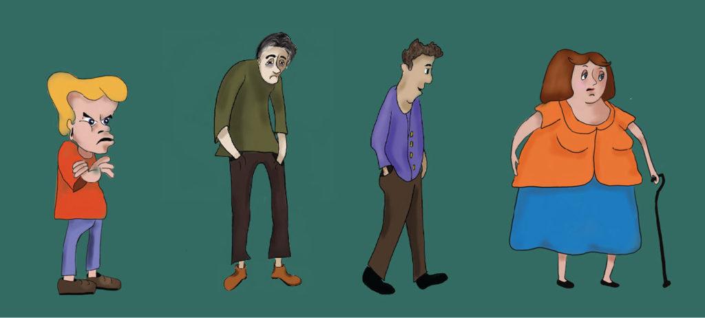 Custom Character Illustrations